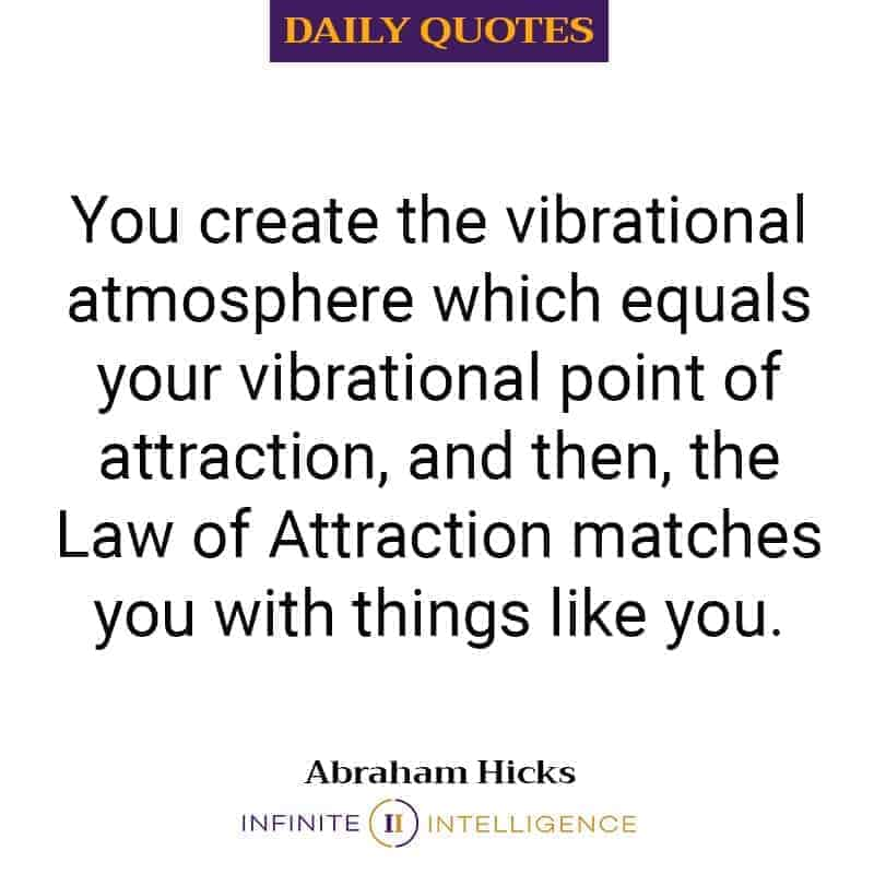 Create The Vibrational Atmosphere