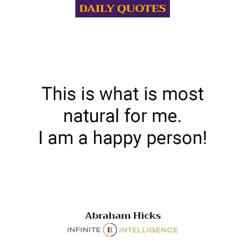 Natural State To Be A Happy Person